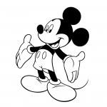 16Dibujo-Mickey-Mouse-para colorear-dibujo-pintar